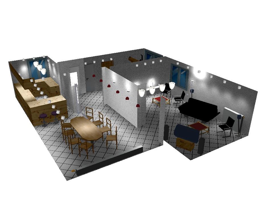 planung beleuchtung. Black Bedroom Furniture Sets. Home Design Ideas